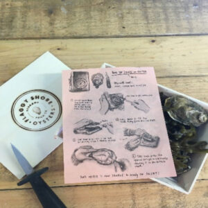 A Dozen Flaggy Shore Oysters + Knife – The Full Works